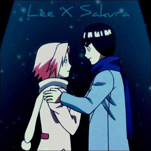 Lee a finalement réussi à conquérir le cœur de ce cher Sakura; Sakura et Lee : vrai ou faux ?