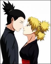 Ils étaient ennemis, puis alliés et aujourd'hui pourquoi pas amants, Shikamaru Temari : vrai ou faux ?