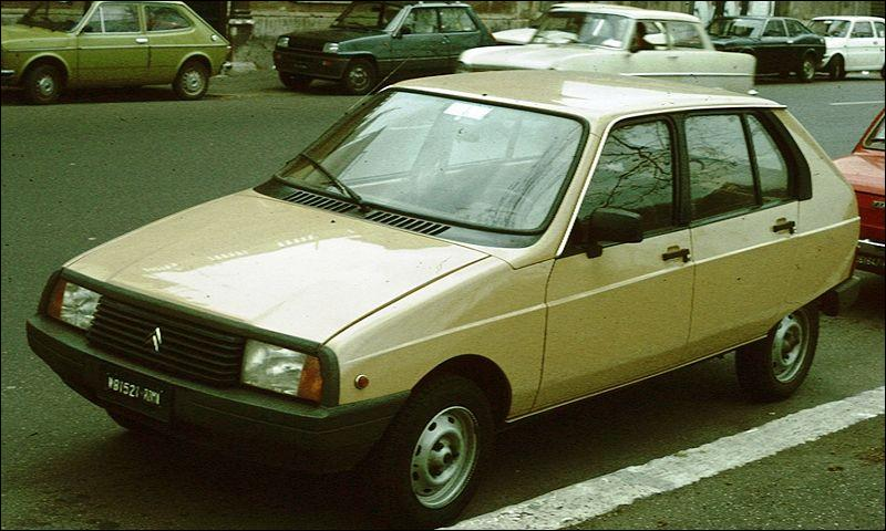 Quel est ce véhicule Citroën ?