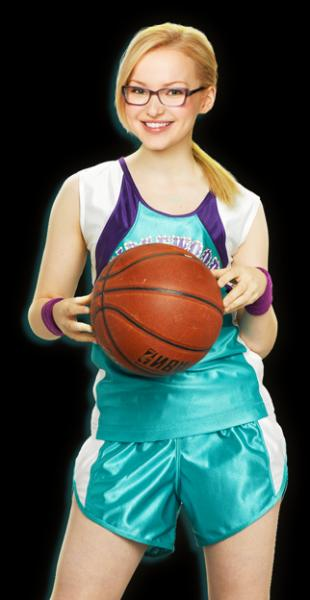 Quels membres de la famille jouent au basket ?
