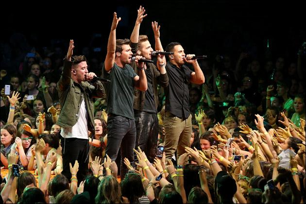 Parmi les 3 propositions, une chanson n'est pas chantée par les Big Time Rush ; laquelle ?