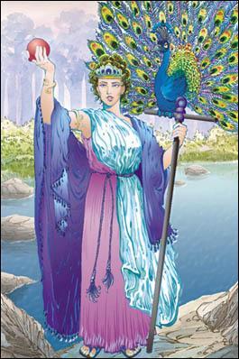 Quelle est cette déesse, déesse du mariage, des femmes et de la naissance ?