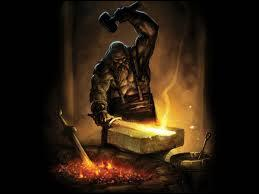 Quel est ce dieu, dieu de la forge, du feu et des métaux ?