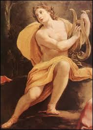Quel est ce dieu, dieu du soleil, de la musique, de l'archerie, de la prophétie et de la guérison ?
