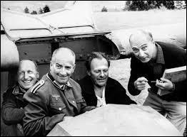 Comment ne pas retrouver le titre de ce film, avec cette photographie qui réunit les principaux héros de ce voyage à travers la France, ainsi que le réalisateur. Quel est le titre du film ?