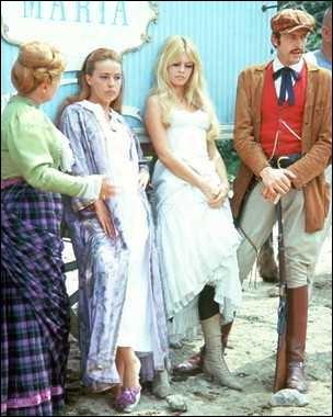 Attendant d'entrer en scène, voici une brochette d'acteurs et actrices qui ont participé à un film de Louis Malle, réunissant des acteurs français et américains. Il s'agit de ?