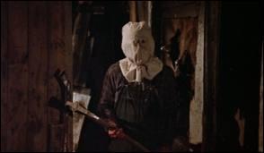 Quel personnage a porté ce sac en toile sur le visage avant d'adopter son célèbre masque ?
