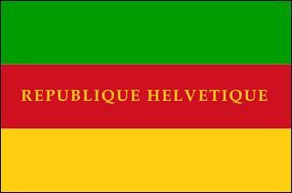 Dans quel pays trouvait-on la République helvétique ?