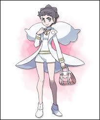 Quel Pokémon Dianthéa utilise-t-elle en premier ?