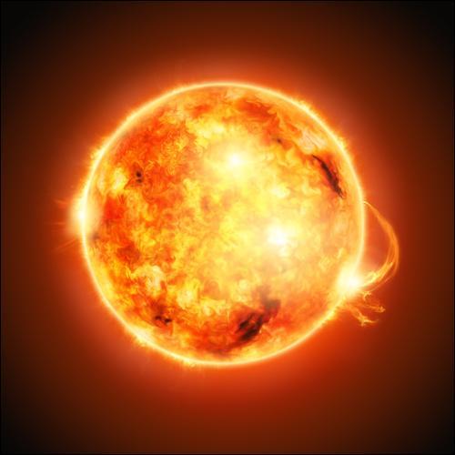 Le Soleil est une étoile.