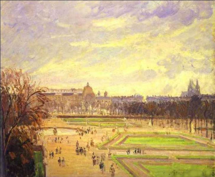 Quizz les tuileries en peinture quiz peintres peintures for Au jardin des tuileries