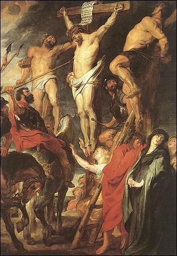 Quel est le nom du centurion qui perça le flanc droit de Jésus, pour s'assurer de sa mort ?