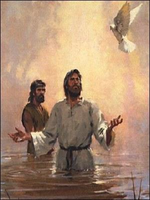 Quel est le fleuve où il sera baptisé par Jean-Baptiste ?