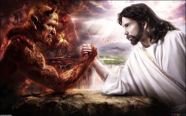 À quelle fête chrétienne correspond, le combat de Jésus contre le diable ?