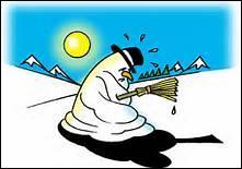 """Que signifie l'expression """"fondre comme neige au soleil."""" ?"""