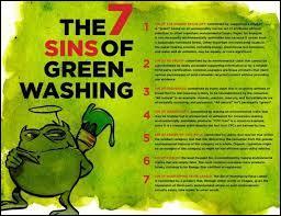 """Comment appelle-t-on cette pratique dont les entreprises, les organisations et les gouvernements se servent pour """"vert-nir"""" leur apparence ?"""