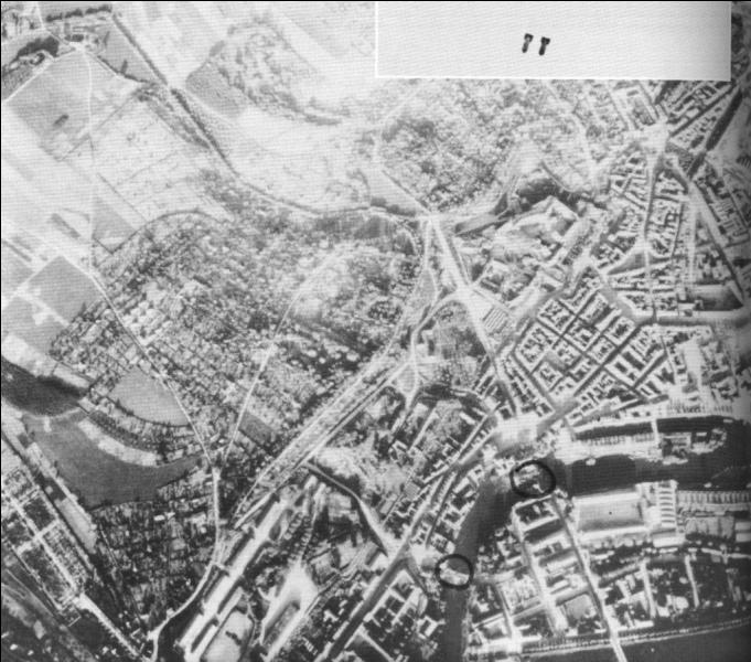 Sur quelle ville se porta l'effort principal quand L'Allemagne déclencha une grande offensive entre le 8 et le 10 mai 1940 ?