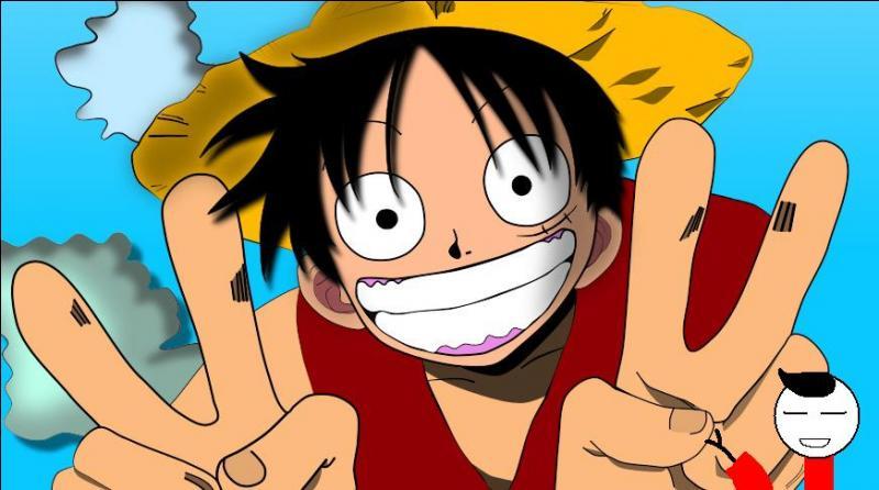 _Bonjour à tous ! Pour cette revue, je laisse la parole à Laurent, notre styliste de renommée mondiale ! _Merci Sam. Alors, pour cette revue, j'ai choisi comme mannequin le très célèbre Monkey D. Luffy du manga...