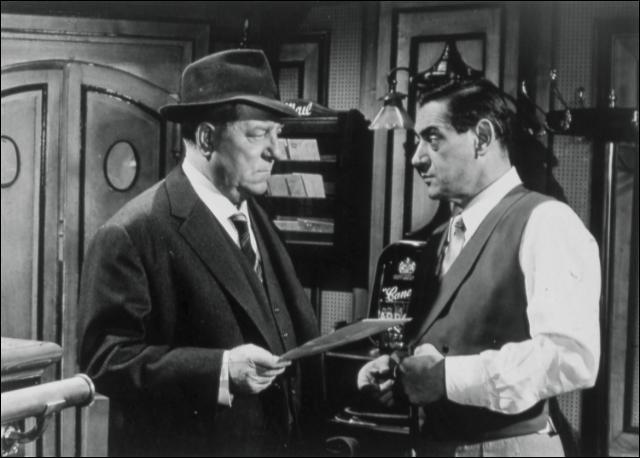 Quel est ce film de Gilles Grangier réalisé en 1963 dans lequel Gabin joue aux côtés de Michel Constantin ?
