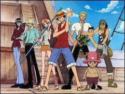 Le personnage qui n'est pas présent sur cette image de 'One Piece' est...