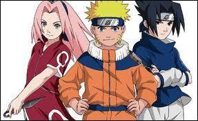 Parmi ces personnages de 'Naruto', lequel n'apparaît pas ?
