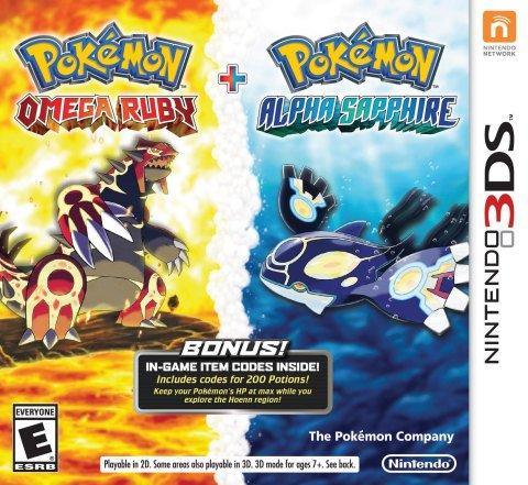 Pokémon Rubis Oméga et Saphir Alpha