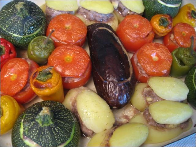 Délicieux petits farcis provençaux ! Qu'allons-nous déguster ?