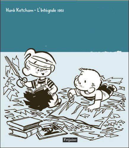 Quelle est cette bande dessinée créée par Hank Ketcham ?