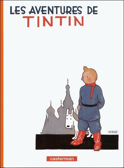 On finit avec les aventures de Tintin, quel est le titre de ce premier album d'Hergé ?