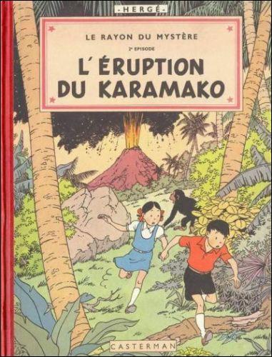 Dans cet album d'Hergé, qui retrouvons-npus ?