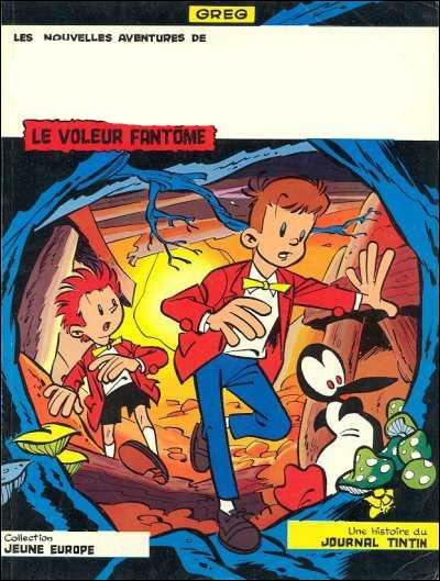 Quel titre manque sur la couverture de cette BD d'Alain Saint Ogan ?