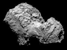 De quelle taille est la comète (en longueur) ?