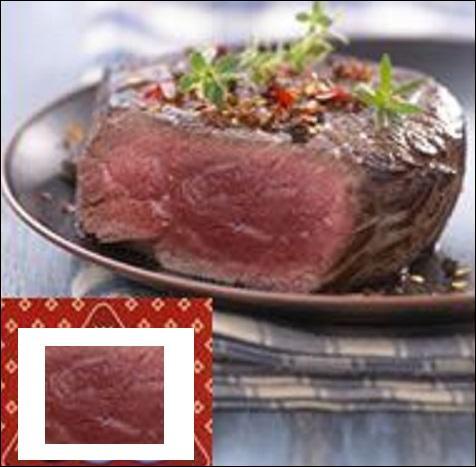 Les animaux ont été élevés à l'air libre, et l'herbe broutée leur donne une qualité de viande particulière. Laquelle ?