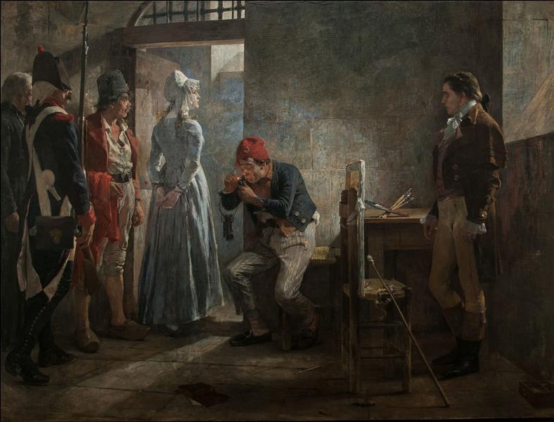 Charlotte Corday fut conduite à la guillotine pour avoir assassiné :