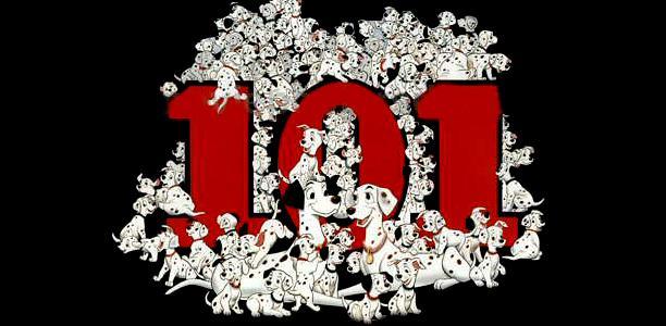 Les personnages des 101 Dalmatiens
