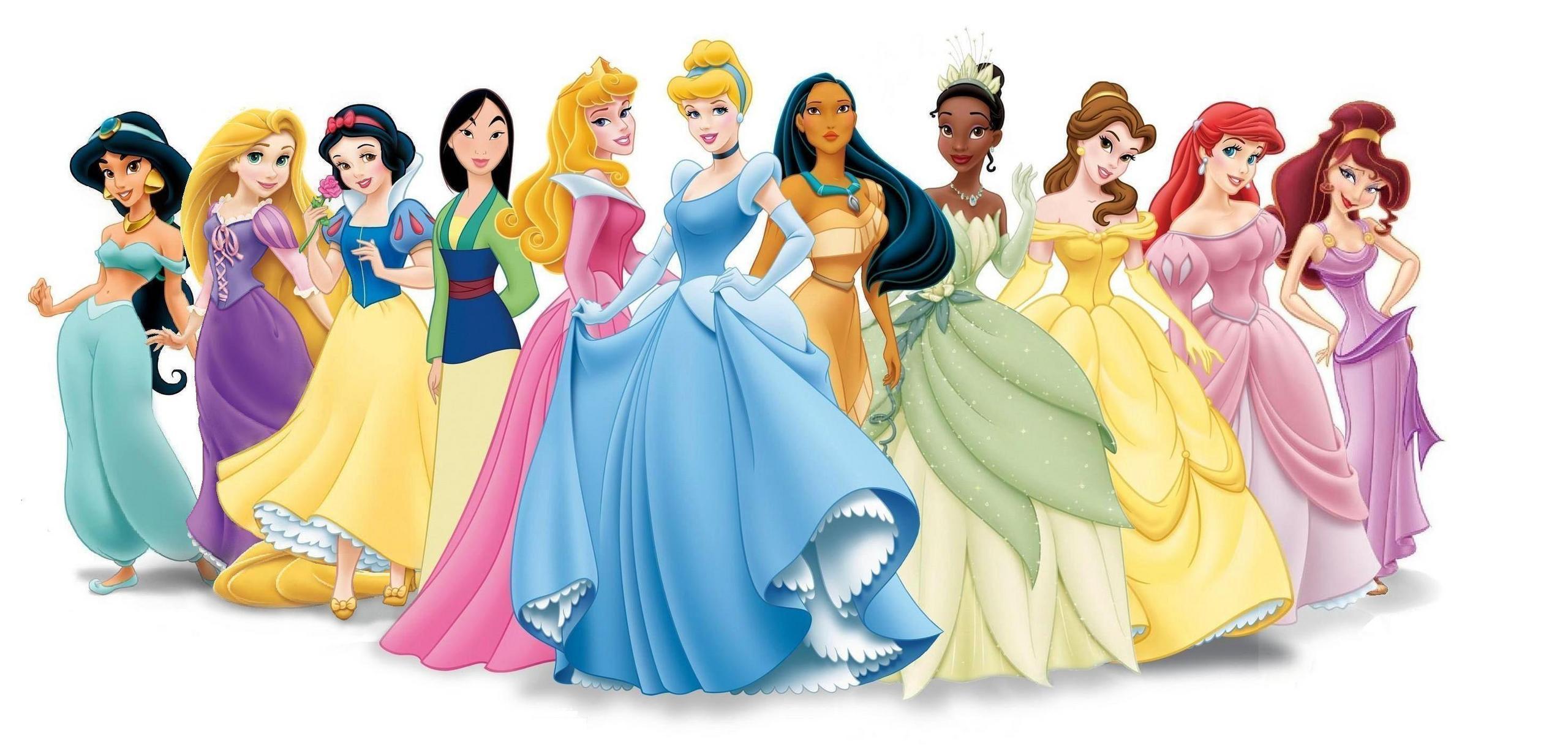 Princesses Disney 'Qui est-ce?'