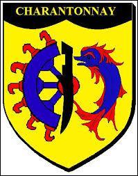 Je vous présente le blason de la commune Iséroise de Charantonnay. Elle se situe en région ...