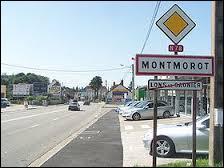 Nous entrons dans la commune franc-comtoise de Montmorot. Nous nous situons dans le département ...