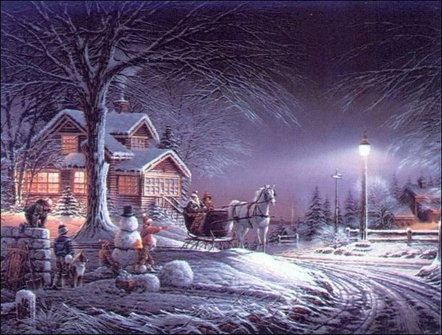 """""""C'était l'hiver dans le fond de son cœur"""" : extrait de la chanson """"C'était l'hiver"""" interprétée par..., connu pour sa chanson """"La dame de Haute-Savoie""""."""