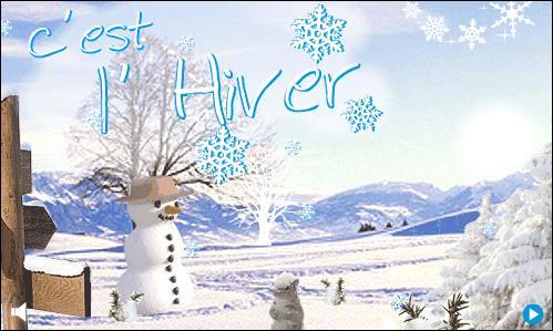 Dans l'hémisphère nord, l'hiver commence le 21 ou 22 décembre. Le jour est plus court que la nuit. C'est...