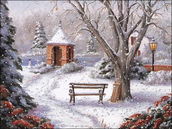 """Le mot """"hiver"""" vous fait penser..."""