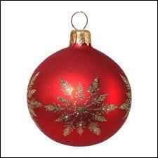 Un symbole de Noël dans un symbole de Noël. Bizarre non ?