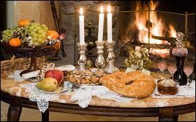Et bien sûr, on a faim le soir de Noël ! C'est ...