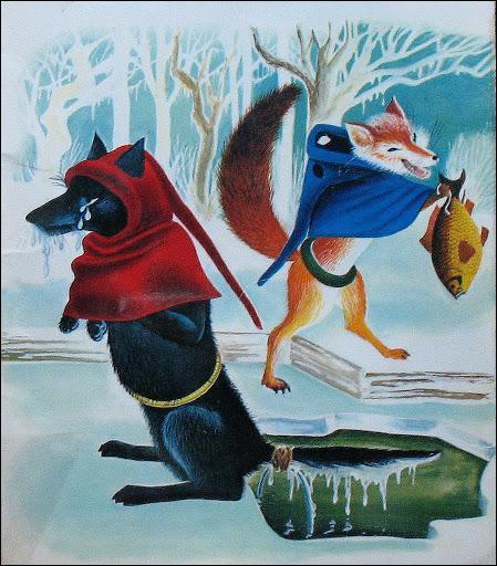 Comment se nommait le loup dans le roman de Renart ?