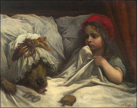 """Dans la plus ancienne version du """"Petit Chaperon rouge"""", celle de Charles Perrault"""", comment se termine l'histoire ?"""