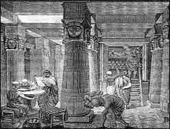 Aristophane de Byzance, bibliothèque d'Alexandrie, et vous répondez immédiatement -------------.