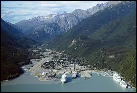 Laquelle de ces villes ne se situe pas en Alaska ?