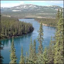 Lequel de ces fleuves traverse l'Alaska pour se jeter dans le détroit de Béring ?