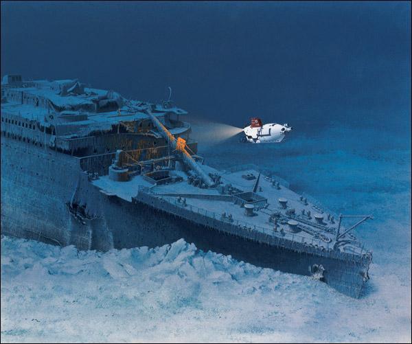 En quelle année fut découvert l'épave du Titanic ?