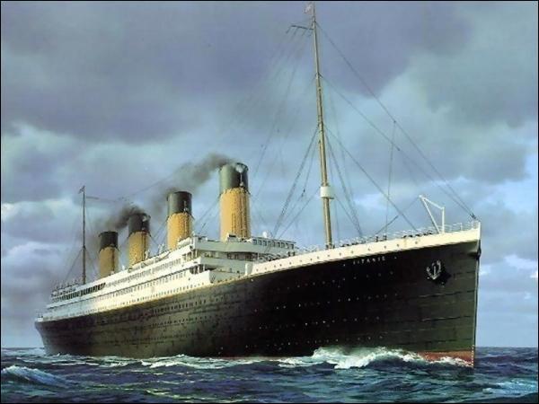 Quelle était le poids du Titanic ?